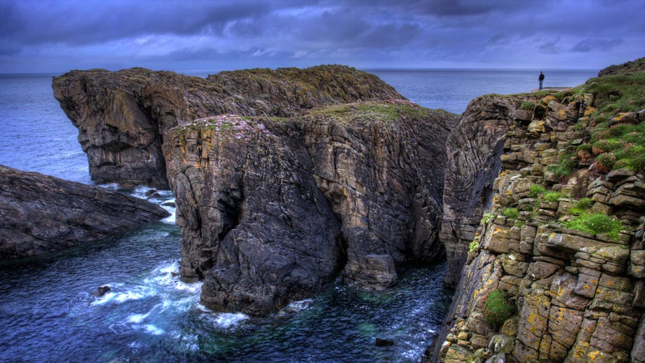 The Edge of the Old World, Butt of the Isle of Lewis (Rubha Robhanais), Outer Hebrides, Scotland