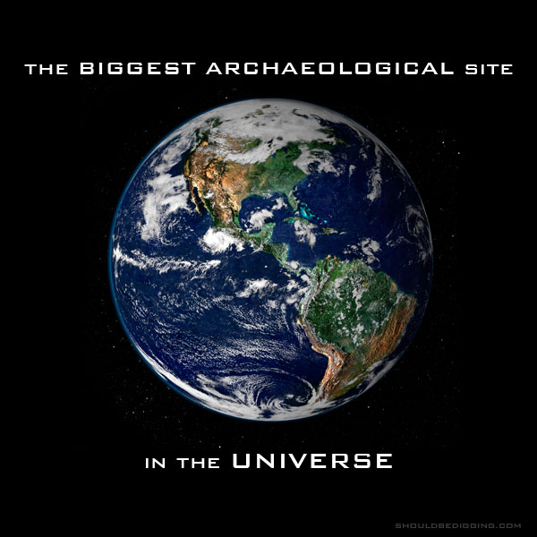 The Biggest Archaeological Site in the Universe